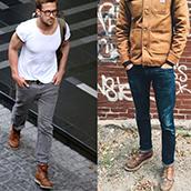 Como usar Botinas masculinas com estilo